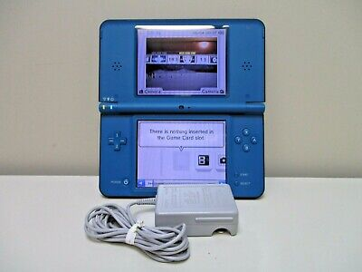 $65.95 • Buy NINTENDO DSi XL BLUE TESTED W/ Charger