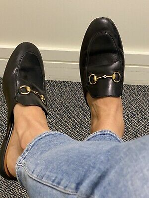 AU425 • Buy Gucci Horesbit Leather Black Loafers Size 36 - Used Great Condition