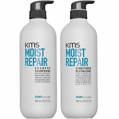 AU84.95 • Buy KMS California Moist Repair Shampoo And Conditioner 750ml Duo Pack