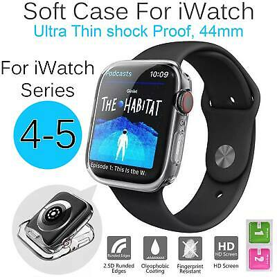 AU3.59 • Buy Screen Protector Full Cover TPU Case IWatch For Apple Watch Series 5 4 4mm AU