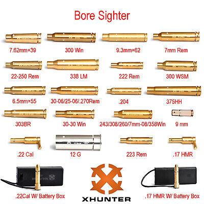 $ CDN26.46 • Buy Xhunter Bore Sighter Laser Boresighter Red Dot Bore Sight Rifle Scope All Modes