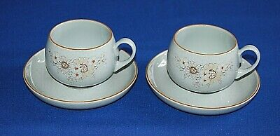 Denby Reflections 2 X Cups & Saucers. 1st Quality.  • 9.99£
