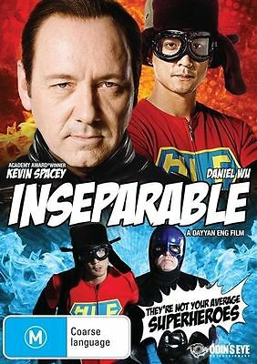 AU9 • Buy Inseparable (DVD, 2013) Kevin Spacey Brand New & Sealed Region 4
