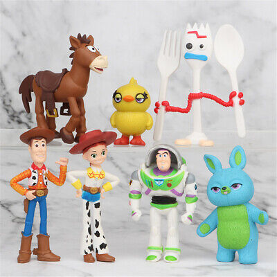 Toy Story Buzz Lightyear 7 PCS Action Figure Kids Toy Gift Cake Topper Decor • 5.99£