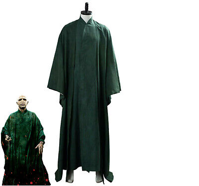 £42 • Buy Harry Potter Cosplay Lord Voldemort Adult Male Cape Cosplay Costume Custom Made