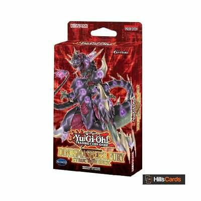 YuGiOh Dinosmasher's Fury Structure Deck | New & Sealed | TCG Cards | Dinosaurs • 11.49£