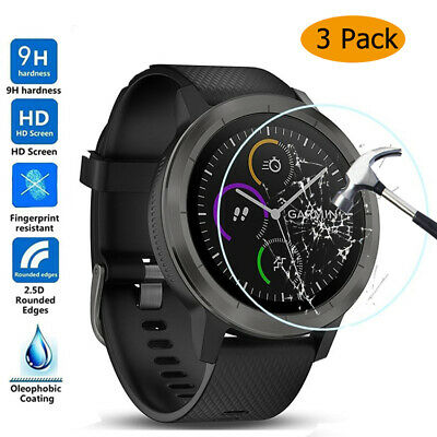 AU3.88 • Buy For Garmin Watch Accessories Tempered Glass Screen Protector Protective Film 3X