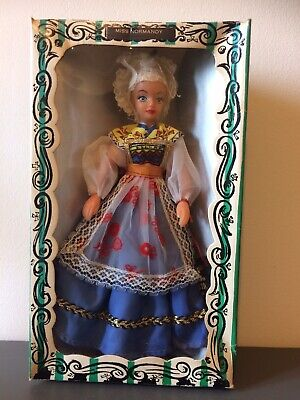 Vintage Rexard 1960's Miss Normandy Doll Boxed With Tags Faun • 12.50£