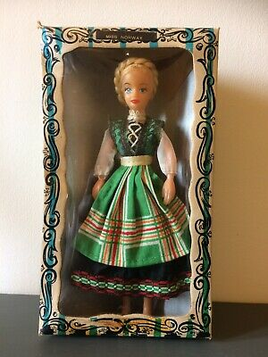 Vintage Rexard 1960's Miss Norway Doll Boxed With Tags Faun • 12.50£