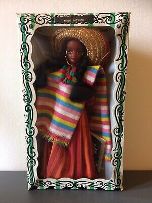 Vintage Rexard 1960's Miss Mexico Doll Boxed With Tags Faun • 12.50£