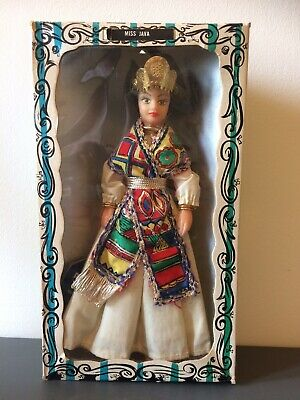 Vintage Rexard 1960's Miss Java Doll Boxed With Tags Faun • 12.50£