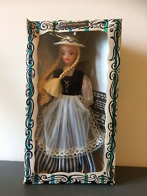 Vintage Rexard 1960's Miss Switzerland Doll Boxed With Tags Faun • 12.50£