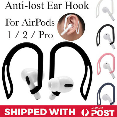 AU7.95 • Buy Apple Airpods Accessories EarHook Anti-Lost AirPod 1 / 2 / Pro Silicone Hook