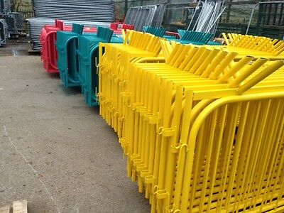 Crowd Control Barriers Powder Coated Temporary Site Fencing • 30£