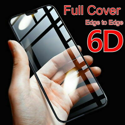 AU4.72 • Buy Tempered Glass Screen Protector Artifact 6D Curved Full Cover For OnePlus 6 5 5T
