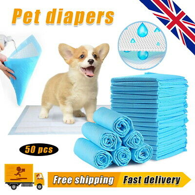 £14.99 • Buy Heavy Duty Dog Puppy Large Training Wee Wee Pads Pad Floor Toilet Mats 60 X 90cm