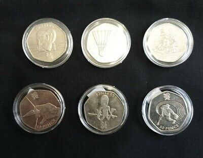 50p Coins - Olympic Series • 16.99£