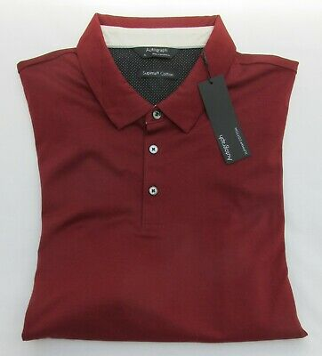 Men's Marks And Spencer Autograph Russet Supima Cotton Polo Shirt Size Xl • 14.99£