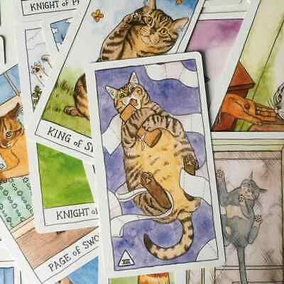 Cat Tarot Email Reading - 5 Or 12 Cards  • 6£