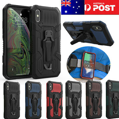 AU13.98 • Buy OPPO A5 A9(2020) F11 PRO Realme 5 6i Belt Clip Case Stand  Shockproof Cover