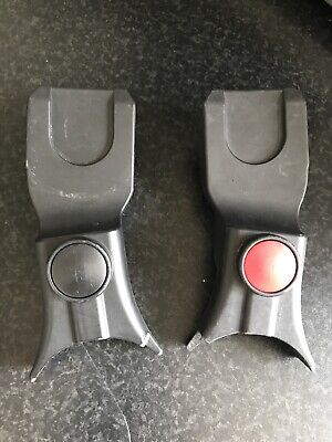 Silver Cross Surf 2,3Car Seat Adapters For Maxi-Cosi,Cybex Aton,Besafe Car Seat • 28£