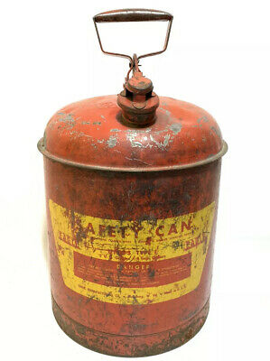 $ CDN78.54 • Buy Eagle Safety Gas Can UI-50-S 5 Gallon Coated Galvanized Steel Seamless FM