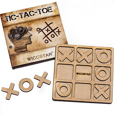Family Noughts And Crosses Game XOXO Tic Tac Toe For Kids Adults Garden Party • 9.79£