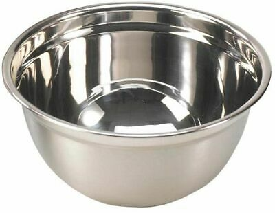 Large 5 Litre Stainless Steel Mixing Bowl 25cm Professional Range • 9.99£