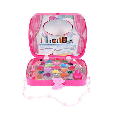 Toy Cosmetic Handbag RoseRed For Fairy Girl Pretend Makeup Set Birthday Gift • 8.63£