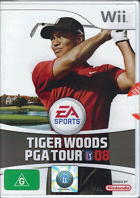 AU14.99 • Buy Tiger Woods PGA Tour 08 For Nintendo Wii In Box With Manual Free Post!