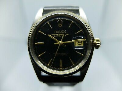 $ CDN6537.60 • Buy Rolex Vintage Stainless & 14k Gold Beautiful Gilt Dial Datejust 6605