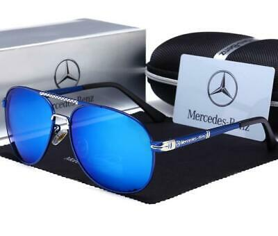 Mercedes AMG Men's UV400 Sunglasses Sports Racing Golf Outdoor Glasses UK • 10.95£