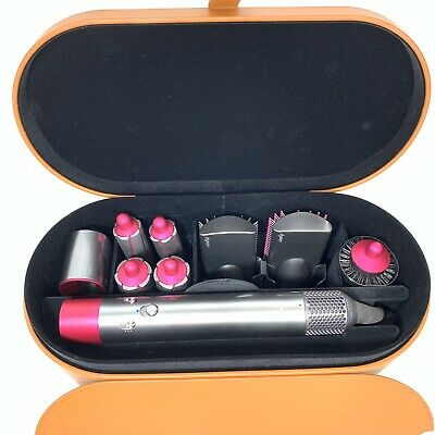 $549 • Buy Dyson Airwrap Complete Styler Set Straightener Curler All Hairstyles Fuchsia