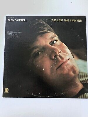$ CDN19.98 • Buy Record Album Glen Campbell  The Last Time I Saw Her  Capitol Records SW-733