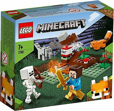 AU29.99 • Buy KIDS Toys LEGO Minecraft The Taiga Adventure Brick Building Birthday Gifts Boys