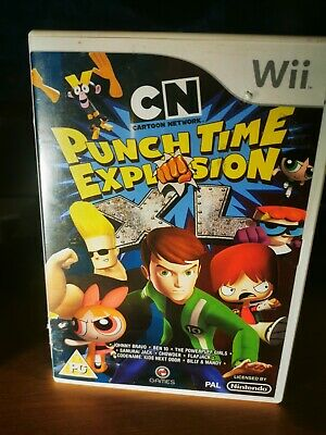 £7.50 • Buy CARTOON NETWORK PUNCH TIME EXPLOSION XL Nintendo Wii Game  FREE POSTAGE