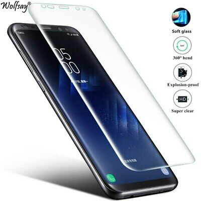 AU3.67 • Buy Samsung S8/S8Plus/Note8 Premium Tempered GLASS Screen Protector With 9H Hardness