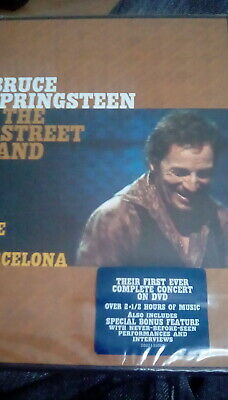 Bruce Springsteen & The E Street Band - Live In Barcelona (2 Discs) DVD NEW • 7.95£