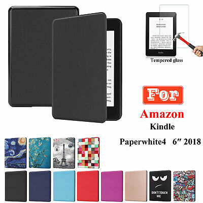 PU Leather Protective Case Stand Cover For Amazon New Kindle Paperwhite 6″ 2018 • 8.59£