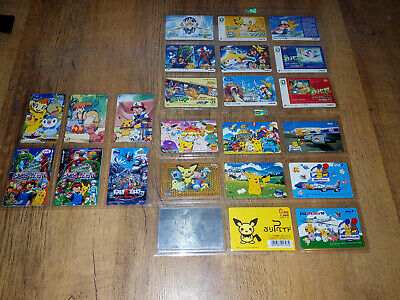 Collection Of Rare Pokemon Japanese Phone Cards (Used) - VGC • 199.99£