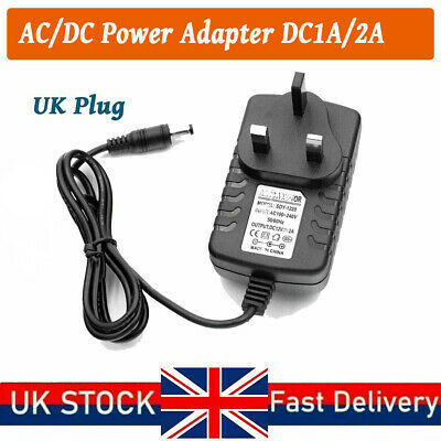 £6 • Buy 12V 1A 2A AC/DC UK Power Supply Adapter Safety Charger For LED Strip CCTV Camera