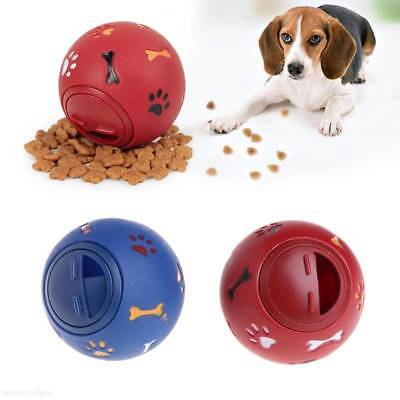 Pets Dog Puzzle Toy Tough-Treat Ball Food Dispenser Interactive Puppy Toys • 4.68£
