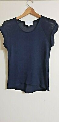 AU48.97 • Buy Viktoria & Woods Navy Top Loose Knit  Size 0