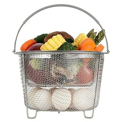 $23.64 • Buy Aozita Steamer Basket For Instant Pot Accessories 6 Qt Or 8 Quart - 2 Tier
