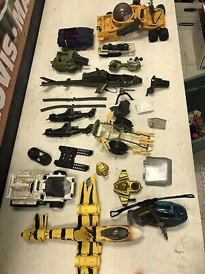 $ CDN65.64 • Buy Huge Lot Of Vintage Hasbro GI Joe Vehicles W/ Extra Parts & Pieces - 80's & 90's