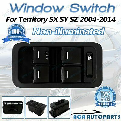 AU24.40 • Buy Master Power Window Switch For Ford Territory SX SY SZ TX Non-illuminated Black