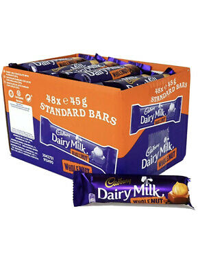 £20.99 • Buy Dairy Milk Whole Nut Std 24 Bars.same Day Dispatch +tracking Delivery Offer Offe