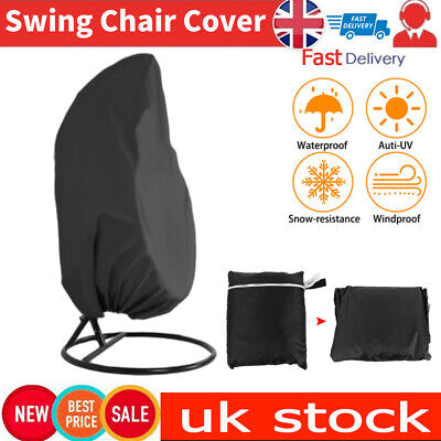 Garden Hanging Hammock Swing Chair Cover Egg Wicker Stand Seat Cover Protector • 12.99£
