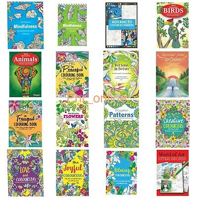 ADVANCED MIND RELAXING COLOURING BOOK BOOKS Kids Or Adult Stress Relief  Therapy • 2.95£