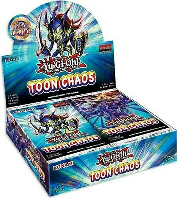 YuGiOh Toon Chaos TOCH-EN Choose Your Ultra Super And Rare Yugioh TCG Cards • 0.99£